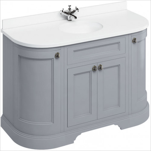 Burlington - Minerva 1340 Top With Vanity Bowl For FC1, FC4 & FW4