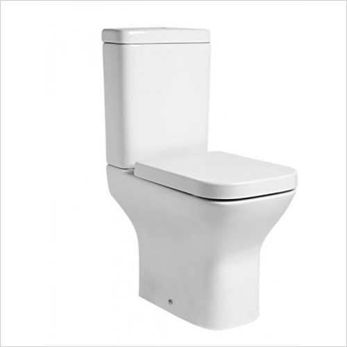 Tavistock Bathrooms - Structure Comfort Height Open Back Close Coupled Pan 640mm