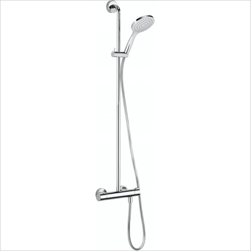 Crosswater - Thermostatic Shower Mixer With Handset