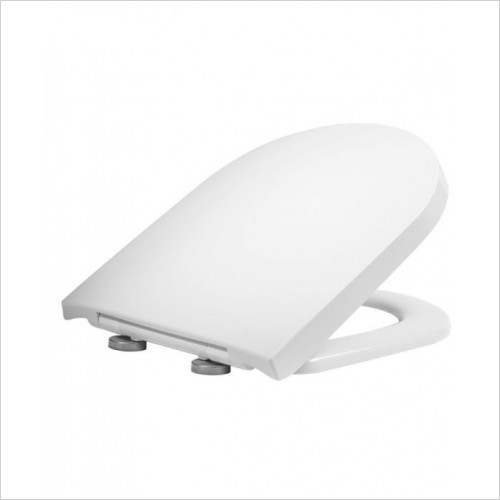 Tavistock - Delta D-Shape Wrap Over Soft Close QR Toilet Seat