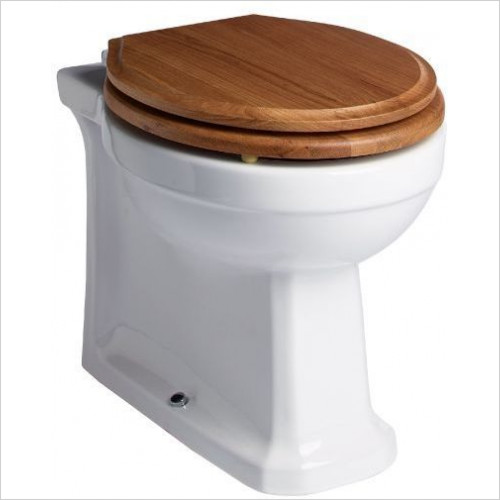Tavistock Bathrooms - Vitoria Back To Wall Pan