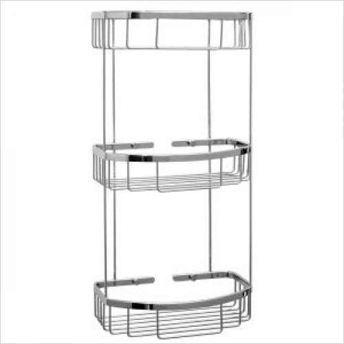 Violek - Rectangular Basket With Three Tiers