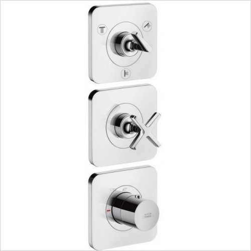 Hansgrohe Axor - Citterio E Thermo Module Finish Set 38x12, 3 Outlets