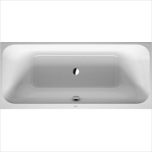 Duravit - Happy D.2 Bathtub 1900x900mm Built-In Incl Support Frame