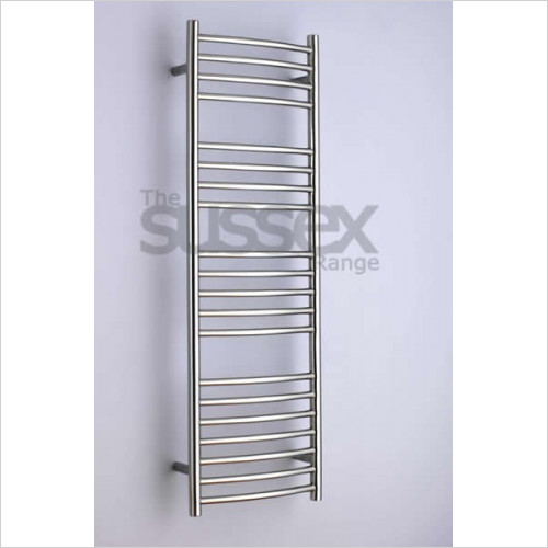 JIS Sussex - Adur Cylindrical Electric Towel Rail 1250x400mm