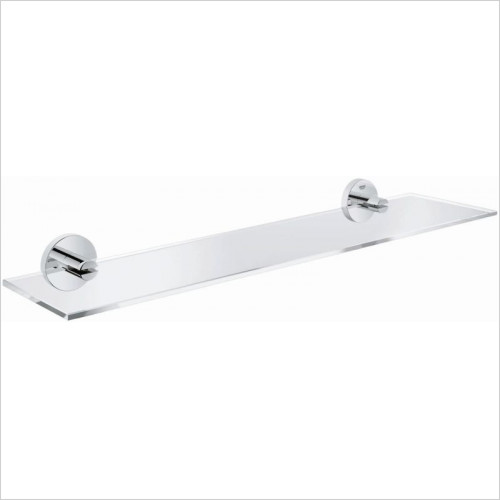 Grohe - Essentials Glass Shelf 380mm