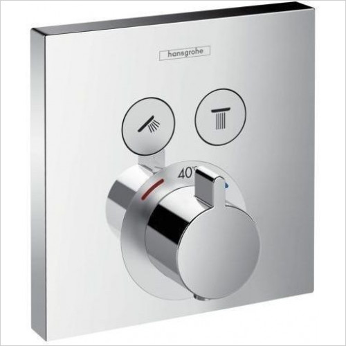 Hansgrohe - ShowerSelect Thermostat Concealed - 2 Outlets