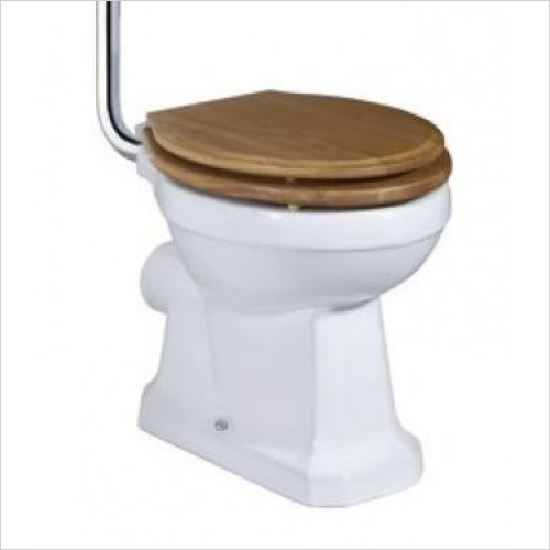 Tavistock Bathrooms - Solid Seat, Soft Close, Bar Hinge
