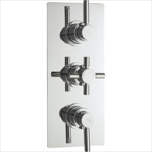 Hudson Reed - Tec Pura Triple Thermostatic Shower Valve