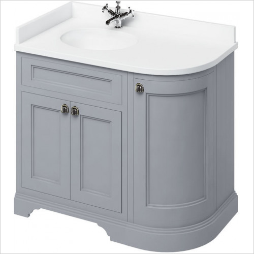 Burlington - Minerva 980 LH Top With Vanity Bowl For FC2 & FW5