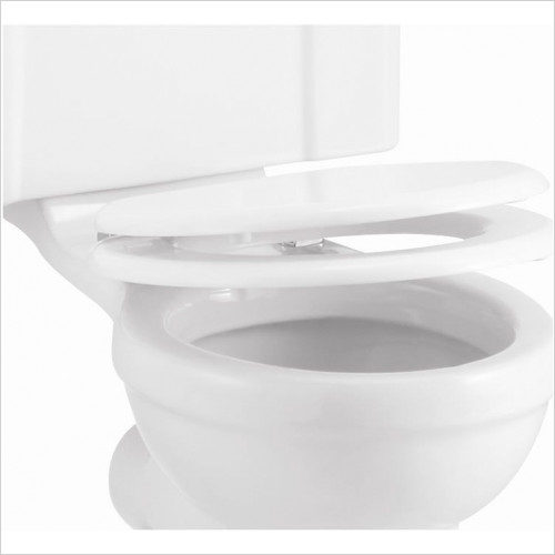 Burlington - Soft Close Toilet Seat