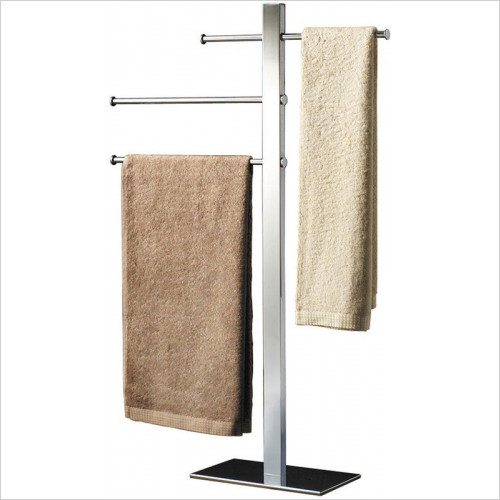 Bathroom Origins - Gedy Bridge Towel Stand