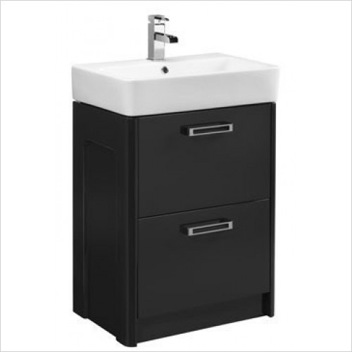 Tavistock Bathrooms - Q60 560 Double Drawer Freestanding Unit