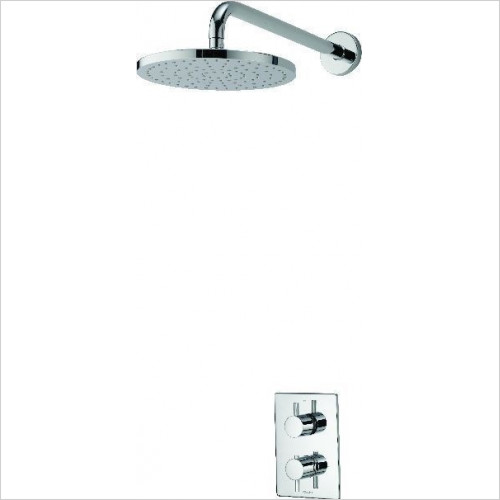 Aqualisa - Dream DCV Mixer Shower With Wall Fixed Drencher Head