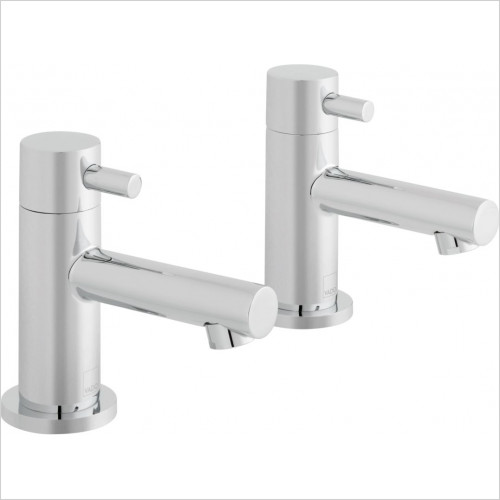 Vado - Zoo Basin Pillar Taps Deck Mounted