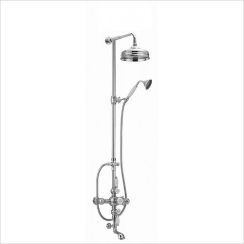 Cifial - Traditional Exposed Thermostatic Bath/Shower Mixer
