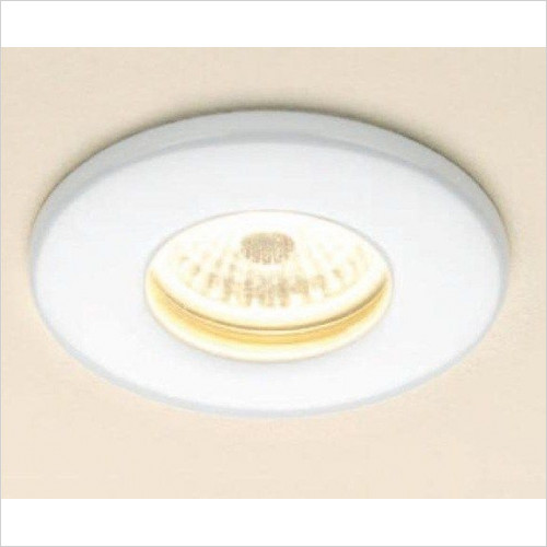 HIB - Fire Rated LED Showerlight Ø8.5cm x 0.7cm