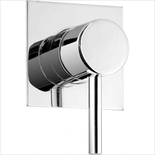 Cifial - Mini Round Concealed Manual Shower Mixer