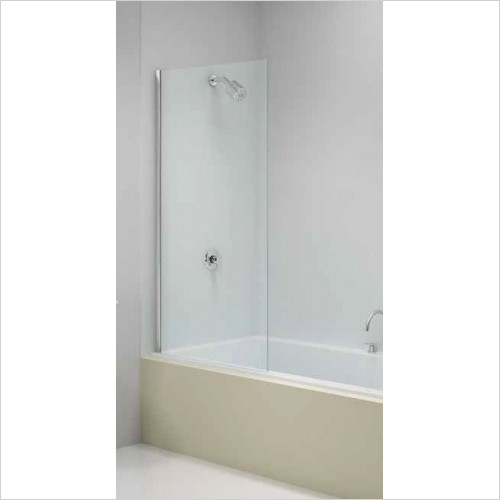 Merlyn - Bath Screen Fixed Square 800 x 1500mm