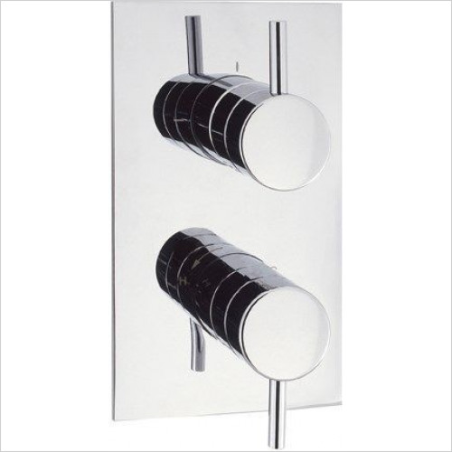 Crosswater - Kai Lever Thermo Shower Valve 3 Way Diverter