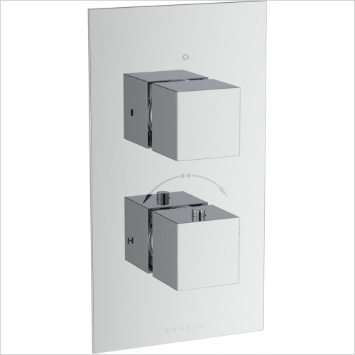 Saneux - Tooga 2-Way Thermostatic Shower Valve
