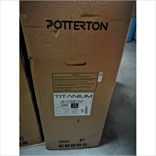 Potterton - Titanium 28 kW Combination Boiler Flue and Timer