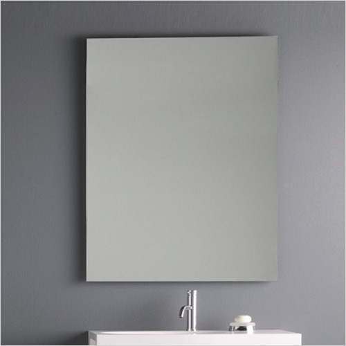 Bathroom Origins - Slim Rectangular Mirror 68 - 600x800mm