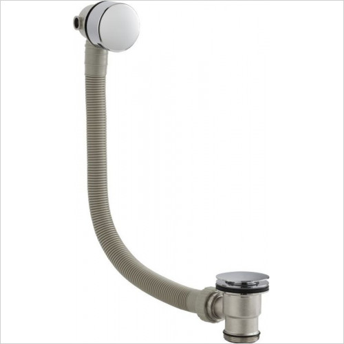 Hudson Reed - Round Slimline Freeflow Bath Filler