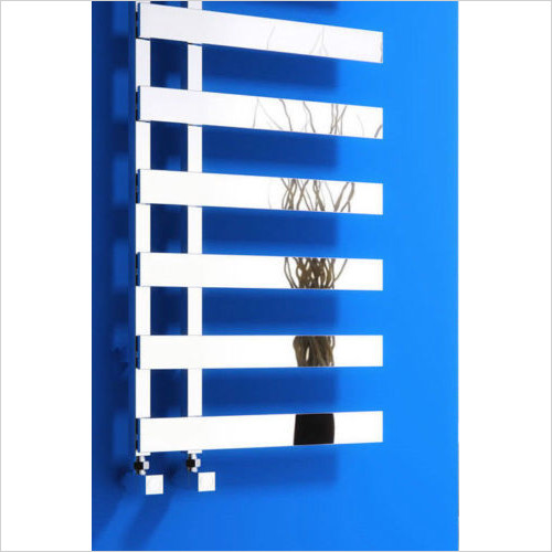 Reina - Reina Florina Steel Heated Radiator Towel Rail 800 X 500