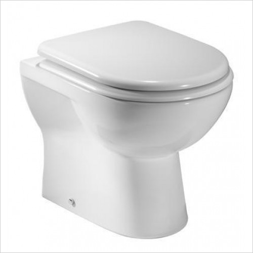 Tavistock Bathrooms - Ion/Micra Short Projection Back To Wall Pan