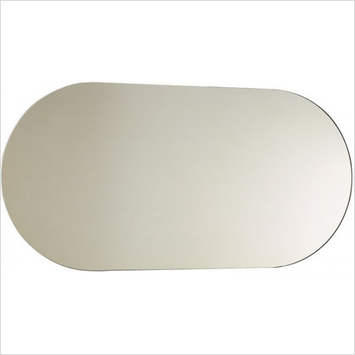 Bathroom Origins - Capsule Mirror 500x1000mm