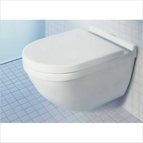 Duravit - Philippe Starck 3 Wall Hung Rimless Toilet WC Box 45270900A