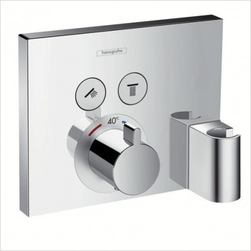 Hansgrohe - ShowerSelect Thermostatic 2 Outlets, Fixfit & Porter