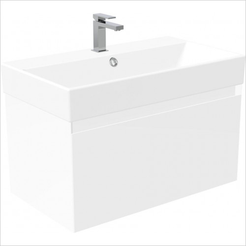 Saneux - Quadro 80cm Wall Mounted Unit