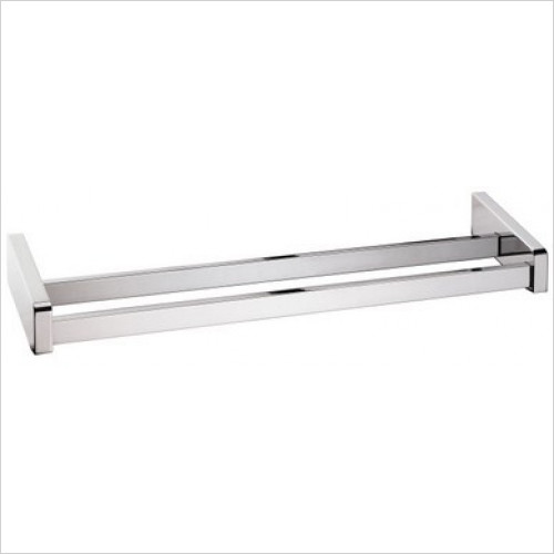 Bathroom Origins - Sonia S3 Double Towel Bar 78cm