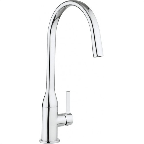 Crosswater - Svelte Side Lever Kitchen Mixer
