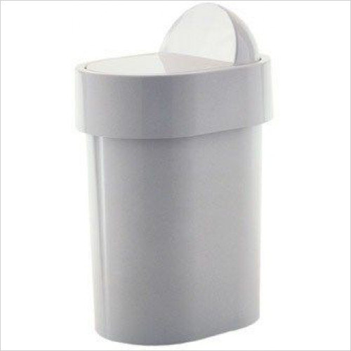 Bathroom Origins - Gedy Complements Swing Bin