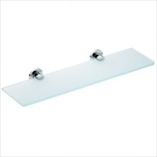 Violek - Clear Glass Shelf 500mm