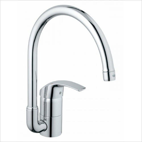 Grohe - Grohe Eurosmart Kitchen Sink Mixer Swivel Tubular Spout Leve