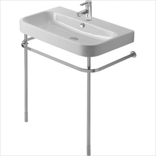 Duravit - Happy D.2 Metal Console Washbasin Height Adj