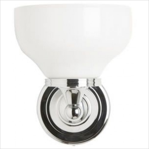 Burlington - Round Base Light, Cup Glass Shade (Rated IP44 Zone 2 & 3)