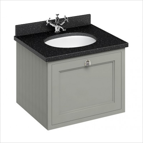 Burlington - 600 Wall Hung Basin Unit With Drawers