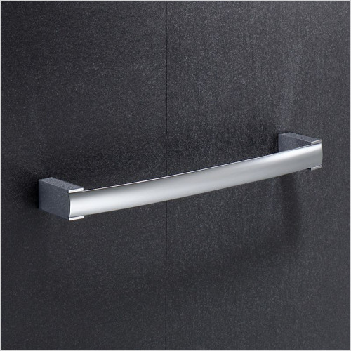 Bathroom Origins - Gedy Kent Towel Rail 30cm
