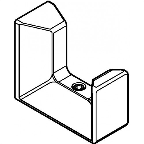 Grohe - Selection Cube Robe Hook