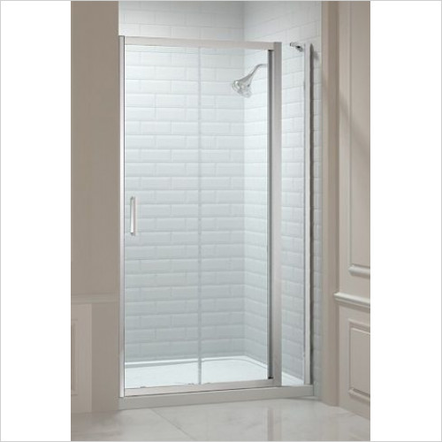 Merlyn - 8 Series Sliding Door & Inline Panel 1540-1600mm