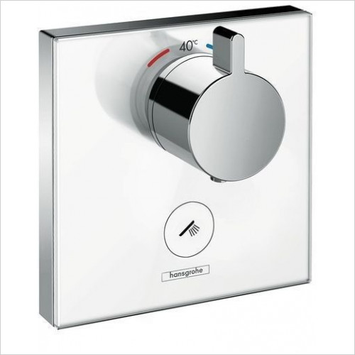 Hansgrohe - Showerselect Glass Therm Mixer Highflow Fr Conc Installation