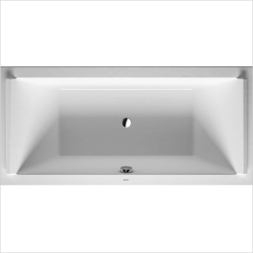 Duravit - Starck Bathtub 1900x900mm Built-In Incl Support Frame