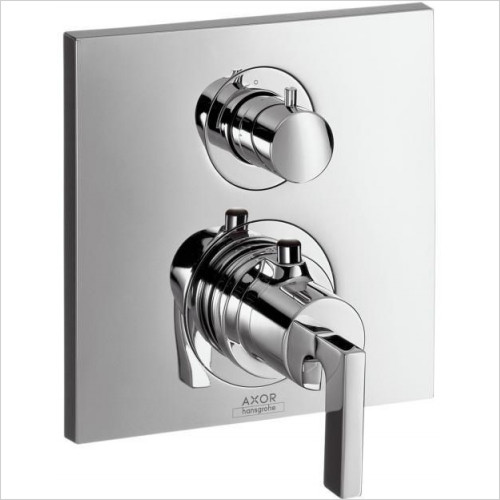 Hansgrohe Axor - Citterio Thermostatic Mixer With Shut Off Valve