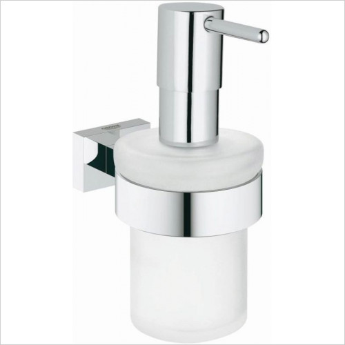 Grohe - Essentials Cube Soap Dispenser With Holder