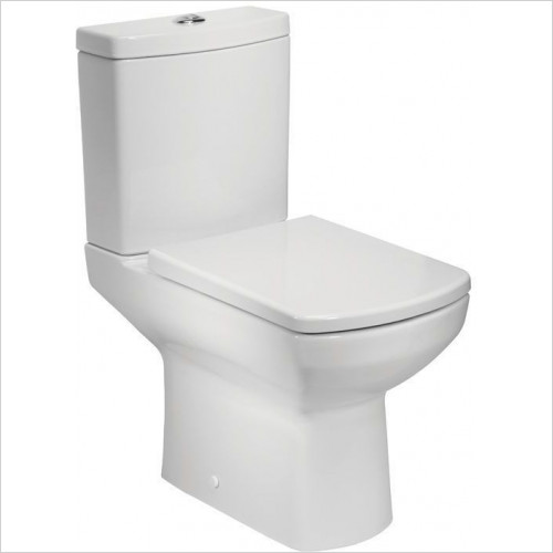 Tavistock Bathrooms - Vibe Close Coupled WC, Open Back
